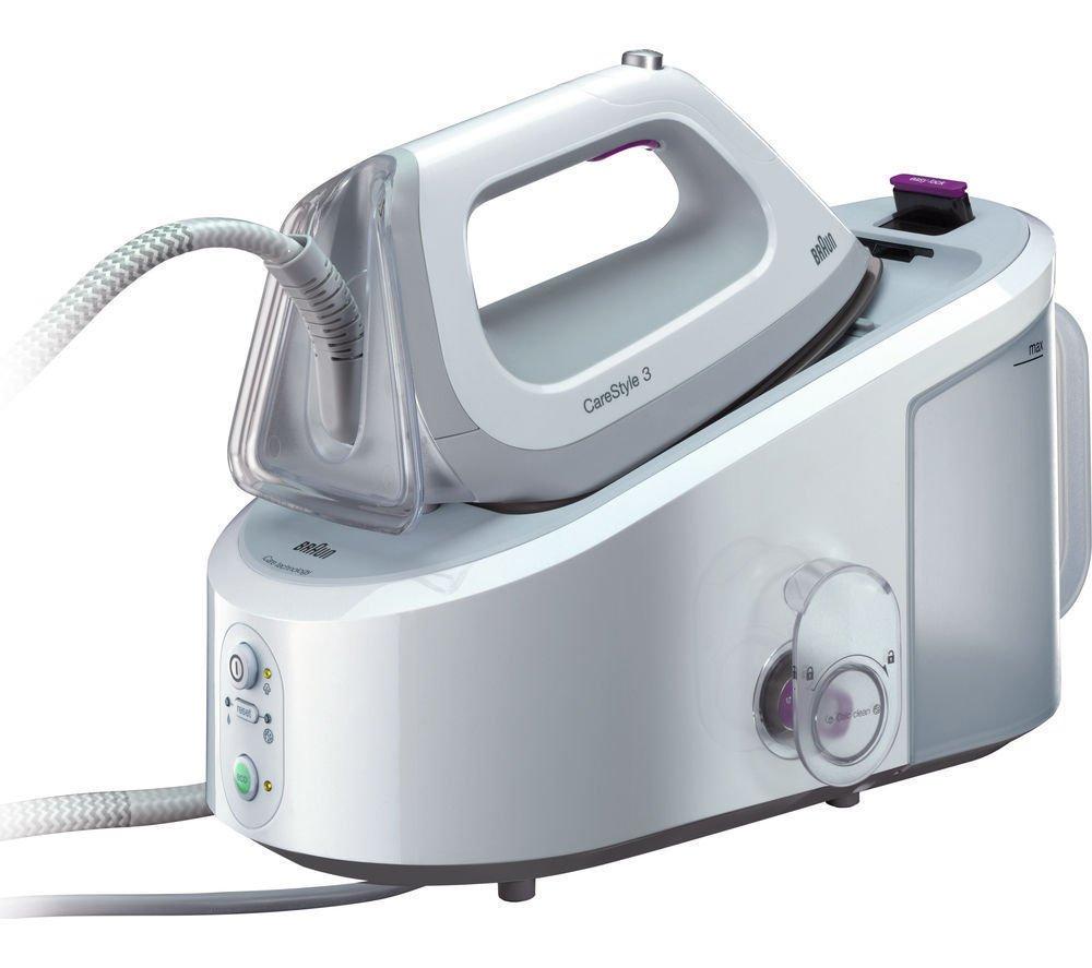 Braun IS3044WH Dampfbügelstation white/violett 146993
