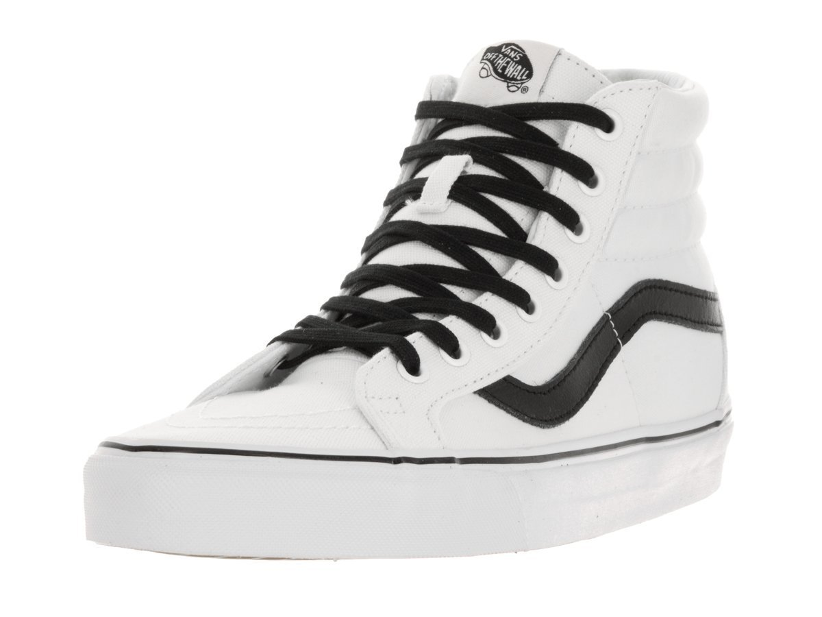 Vans Unisex Sk8-Hi Slim Women's Skate Shoe B011SLJJ2E 11 D(M) US|True White / Black