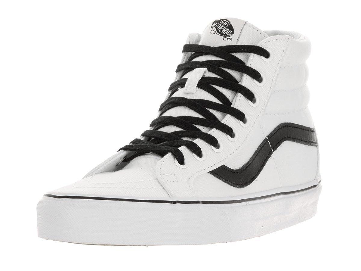True White Black Vans Unisex SK8-Hi(tm) Core Classics