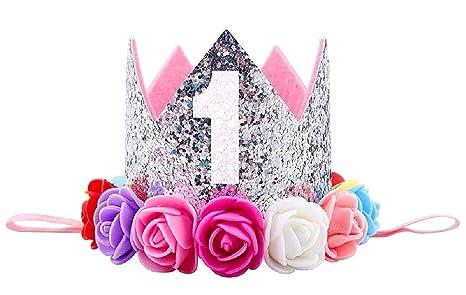 Corona del príncipe - princesa - con rosas - fiesta de ...