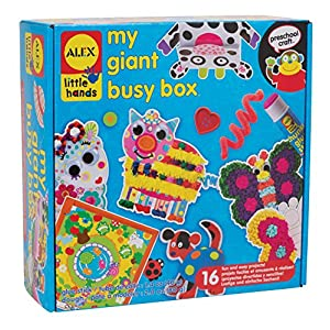 ALEX Toys Little Hands My Giant Busy Box - 61pVkUkUQbL - ALEX Discover My Giant Busy Box Craft Kit