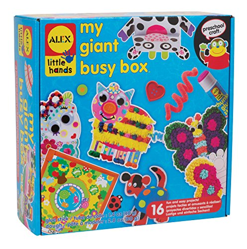 ALEX Toys Little Hands My Giant Busy Box (Alex Projects For Kids)