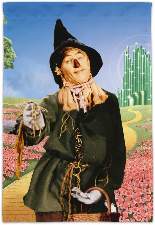 GRAPHICS & MORE Wizard of Oz Scarecrow Character Garden Yard Flag