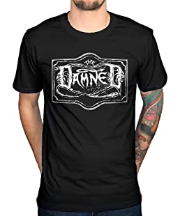 AWDIP Officiial The Damned Logo T-Shirt Realm of The Damned Lager
