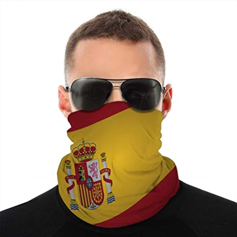 fgdhfgjhdgf 1165 Headwear Bufanda Cubierta Escudo españa Bandera Pin Cuello Bufanda: Amazon.es: Deportes y aire libre
