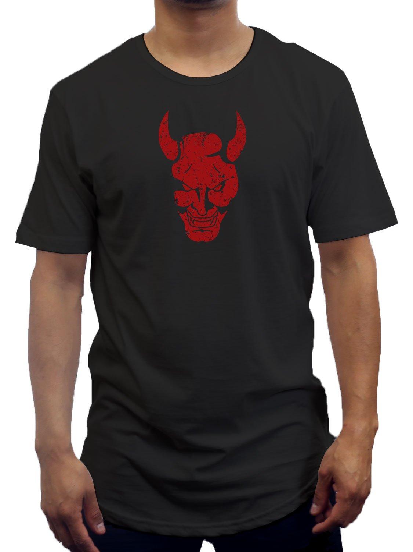 Motto Devil Extended Long T Shirt 1504