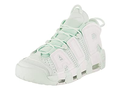 496590681799 Nike Air More Uptempo Barely Green White Womens Size 8.5M