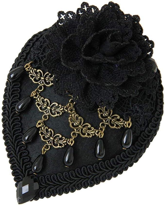 Gorros Señoras Elegante Boda Sombrero Vintage Moda Sombreros Peine ...