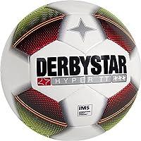 Derbystar Fußball Hyper TT, weiß/rot/gelb/schwarz, 5, 1010500153