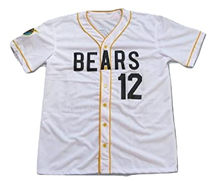 578f9b8b9ba borizcustoms Chico's Bail Bonds Bears Jersey Stitch Shirt Baseball Patch  Sewn #12 Size (36