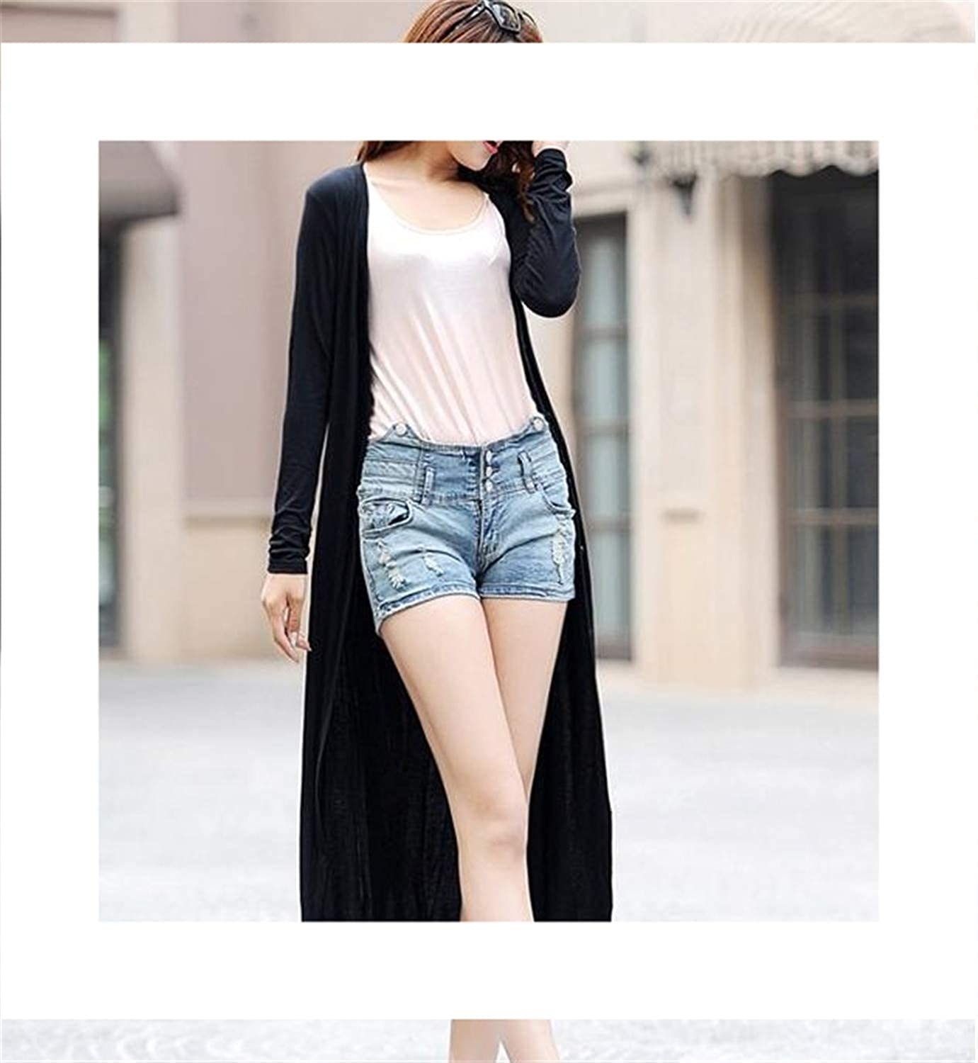 New Spring Thin Kimono Long Cardigan 12 Colors Modal Gilet ...