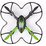 Hubsan H107C X4 Drone Cuadridóptero 2mp Camara (Verde 720P)