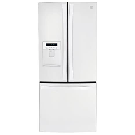 Wide French Door Bottom Freezer Refrigerator With Dispenser