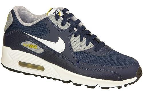 0936f54e2cd55 Nike Unisex Kids Air Max 90 Gs 307793-417 Trainers Blue