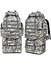 Roloiki Outdoor Training Hunting Backpack Molle Bug-Out Bag Survival Range Bag Exploration Trekking Backpack 100L