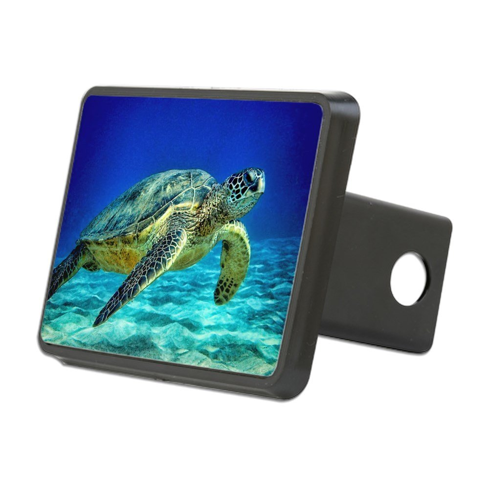 CafePress - Sea Turtle - Trailer Hitch Cover, Truck Receiver Hitch Plug Insert by CafePress