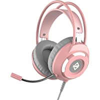 Headset,Phomnd AX120 USB Wired Headset 3.5mm Stereo Gaming Headset Noise Cancelling Headphone with Mic 50mm Driver Unit…