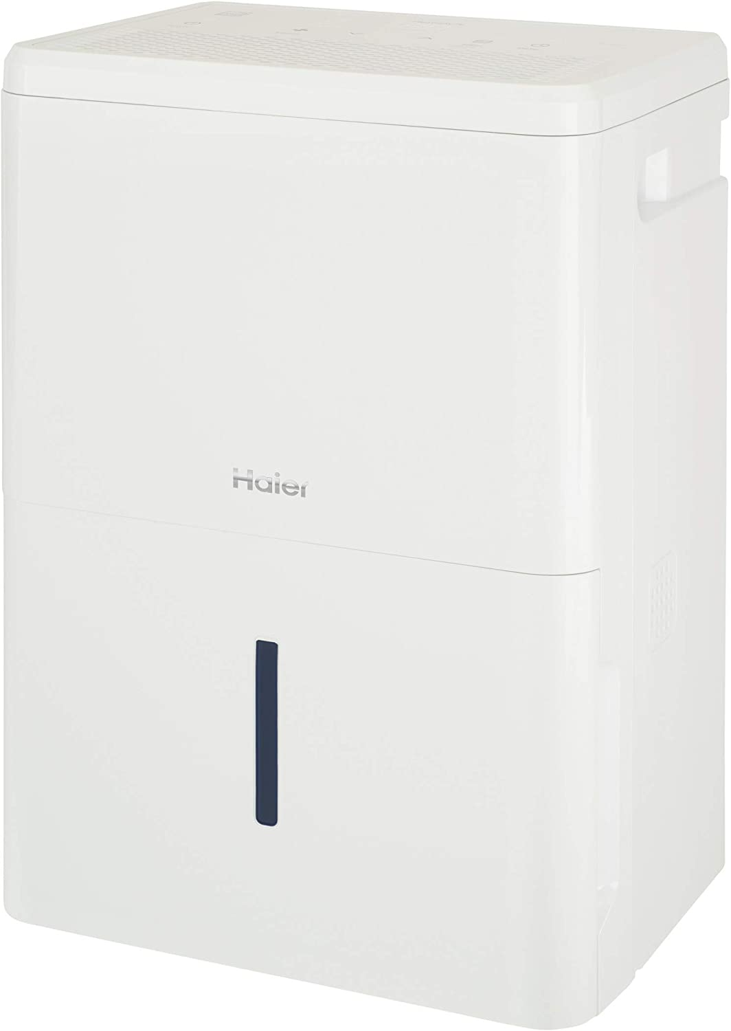 Haier Energy Star 50 Pint Dehumidifier for Home or Basement with Built-in Pump, Large, White