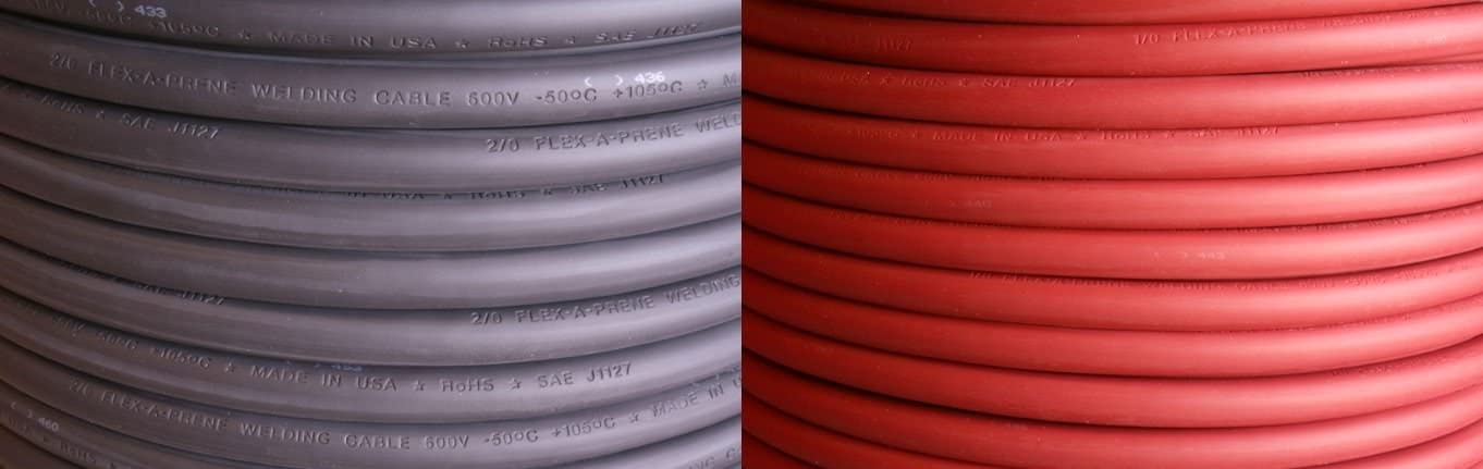 10 FEET of Each Color 600 V Black /& Red #4 Gauge AWG Welding//Battery Cable Made in USA Flex-A-Prene