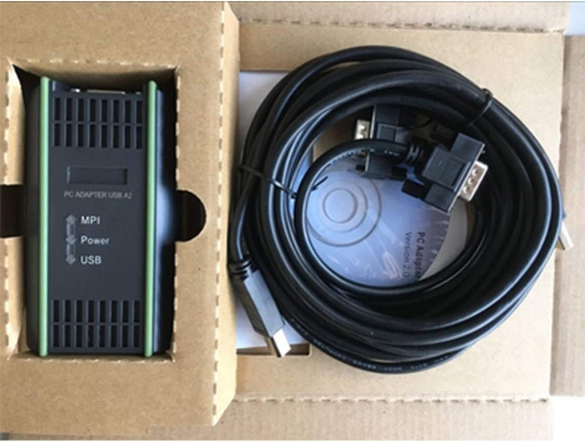Programming cable 6ES7972-0CB20-0XA0 for S7-200//300//400 PLC PC USB MPI 64bit