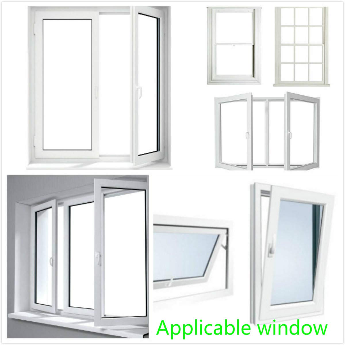 Airlock Window Seal For Mobile Air Conditioning Units