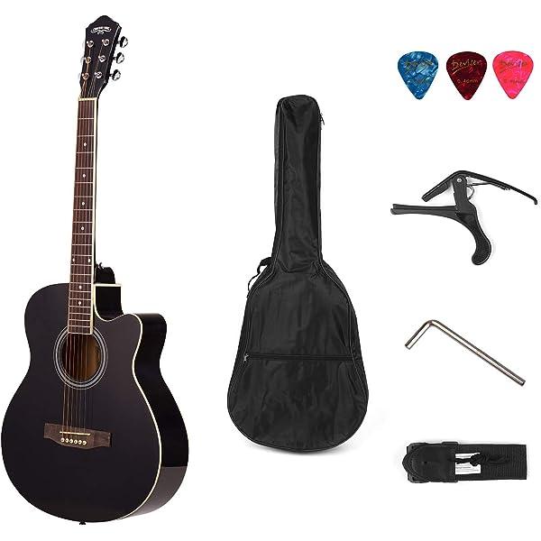 Set de Guitarra Electroacustica con Cutaway + Amplificador de 15 W ...