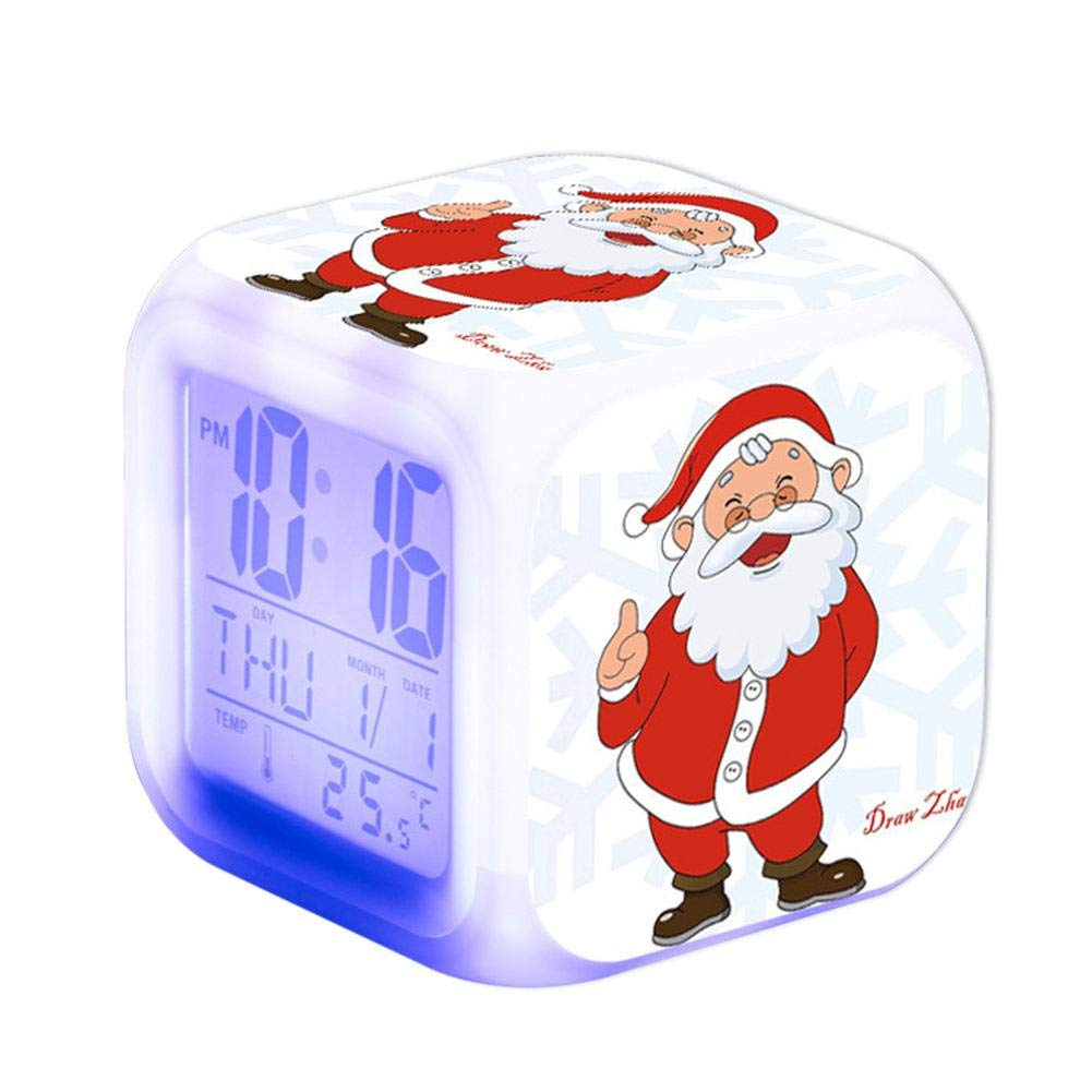 Amazon.com: COREYCHEN Santa Claus Pattern Cartoon Desktop ...