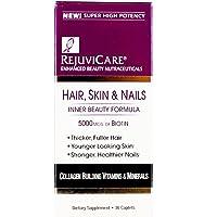 RejuviCare Hair, Skin & Nails Formula Caplets 30 ea ( Pack of 2)