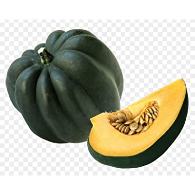 Table Queen Acorn Squash 10 Seeds - Winter Squash Sweet Yellow-Orange Flesh Inside, Organic Bush Non GMO Heirloom Beautiful Fruit Plant for Garden Table : Garden & Outdoor