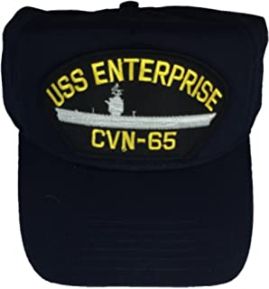 731c6942260 Amazon.com  MilitaryBest USS Enterprise CVN-65 Ships Ball Cap with ...