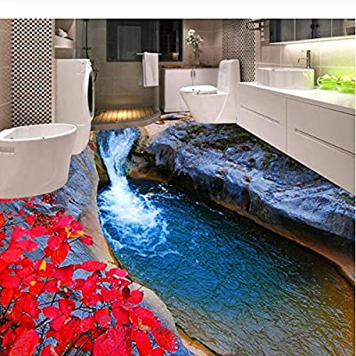 Yan Er Baby Photo Wallpaper 3d Mountain Streams Red Leaves