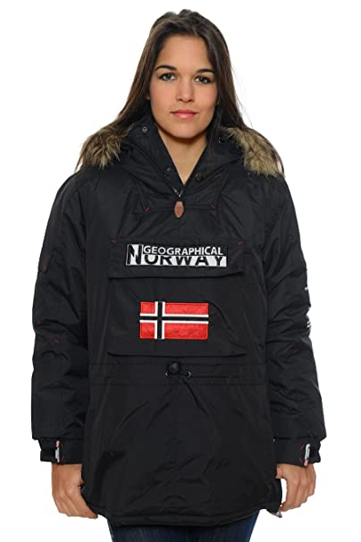 Norway Es Xaiquu Amazon Negro Mujer De Color Parka Geographical S0xwpUUAq