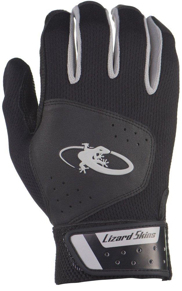 リザードスキンズ 両手組 バッティング手袋 KOMODO ベーシック 正規輸入品 B079MPBR93 X-Small|ジェットブラック ジェットブラック X-Small