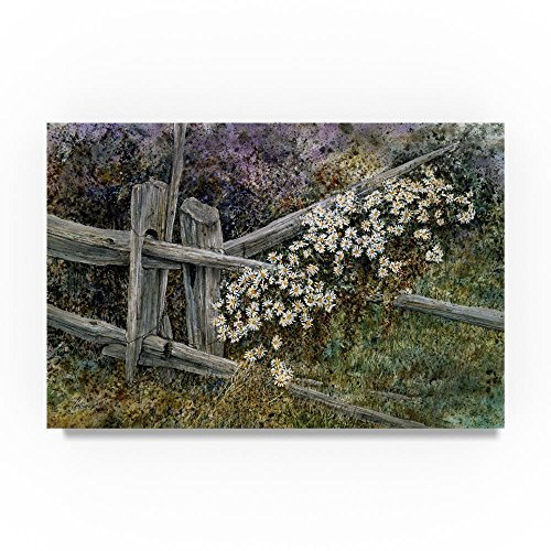 Morrow Daisy - The Last Dance by John Morrow, 12x19-Inch Canvas Wall Art