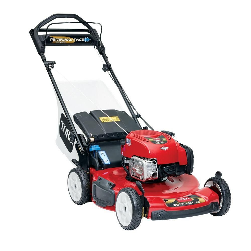 Lawn mowers gasoline hand - your assistants in creating a man-made masterpiece called Lawn
