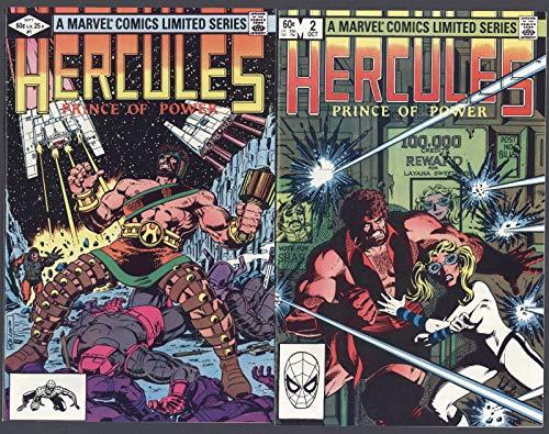 Hercules Prince of Power #1-4 NM Complete Set Full Run Marvel Comics 1982 CBX100