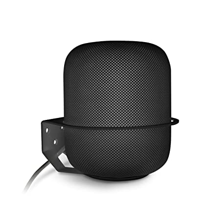 Wall Mount Compatible Apple HomePod ALLICAVER Sturdy Metal Made Mount Stand ...