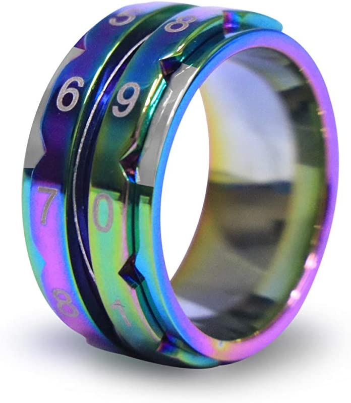 21.4mm Knitters Pride Rainbow Row Counter Rings for Knitting Size 12