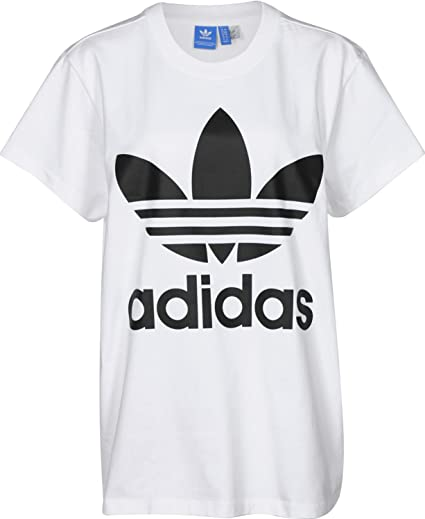 adidas Trefoil Tee T Shirt Femme: : Sports et Loisirs