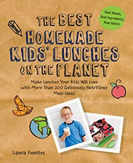 Best Homemade Kids Lunches Planet ebook product image
