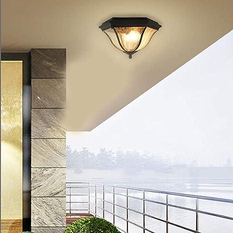 Home Ceiling Light Balcony Outdoor Waterproof Gazebo Lamp Corridor Courtyard Bathroom Veranda Lighting Balcony Decoration Lamps Ceiling Light Led Dimmable Amazon De Beleuchtung