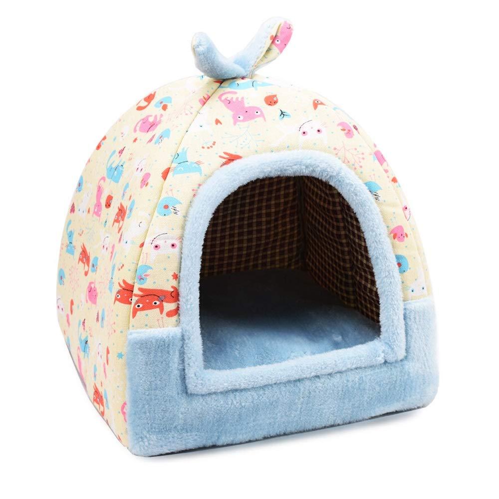XMGJ XMGJ XMGJ Casette per Cani Pet Nest Rimovibile e Lavabile Piccolo Cane Teddy Pet Nest Kennel Lettiera Quattro Stagioni Universal Pet Supplies - Tre Colorei Opzionali Prodotti per Animali Domestici 901f09