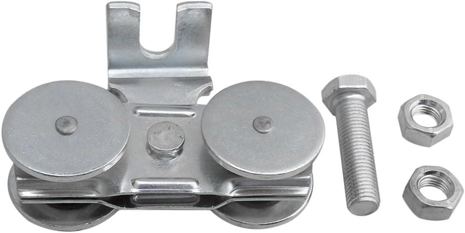 Mxfan H1-5 - Rodillo de puerta corredera para colgar: Amazon.es: Bricolaje y herramientas