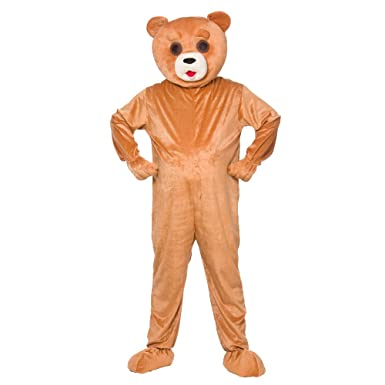 Funny Teddy Bear Mascot - Adult Costume Adult - One Size  sc 1 st  Amazon UK & Funny Teddy Bear Mascot - Adult Costume Adult - One Size: Amazon.co ...