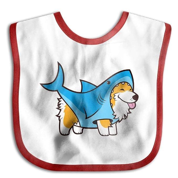 d63152b97570 Amazon.com  Hot Sale Children Burp Cloths Corgi Shark Casual Baby ...