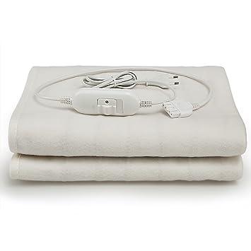 Deuba® Calienta camas | Calienta sabanas | Manta eléctrica de 150 x 80 cm |