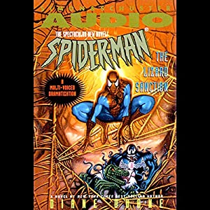 Spider-Man: The Lizard Sanction Audiobook