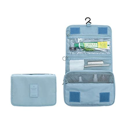 Bolsa Aseo, Botellas Viaje, Kit de Afeitado y líquidos,Resistente y fácil de