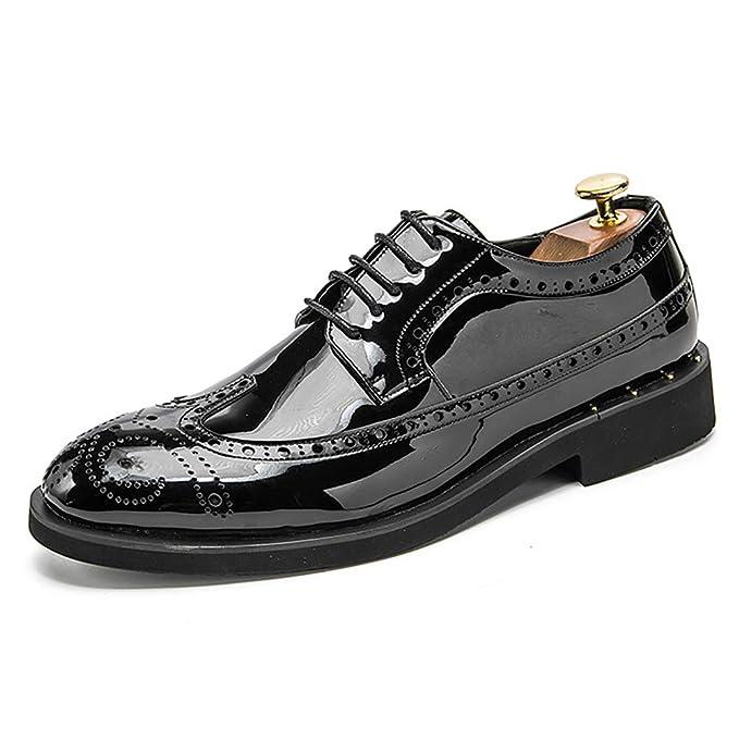 Zapato de cuero para hombre Primavera Verano Mocasines y zapatillas de deporte Calzado de conducción Calzado: Amazon.es: Ropa y accesorios