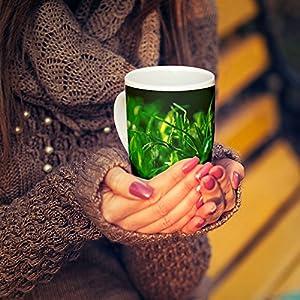 Westlake Art - Coffee Cup Mug - Green Grass - Modern Picture Photography Artwork Home Office Birthday Gift - 11oz (x9m-0c4-f98)